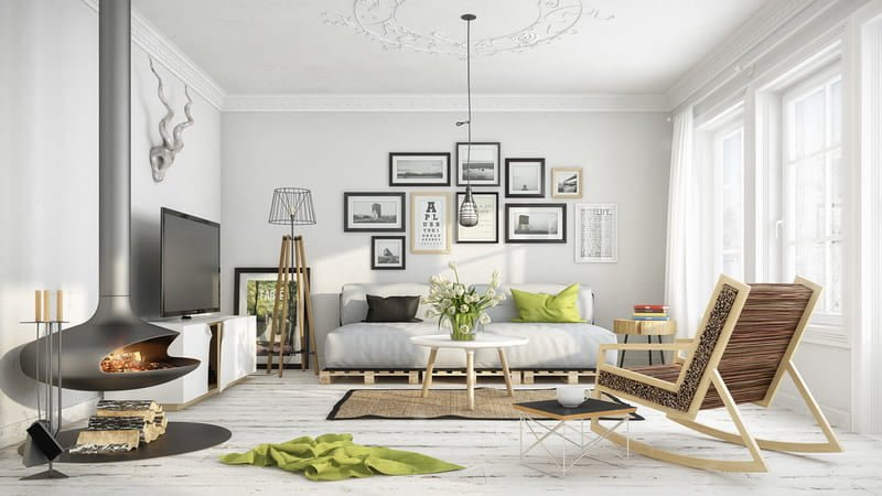 Virtual Staging in Scandinavian Style