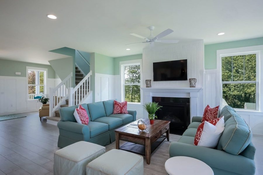 living room staging ideas