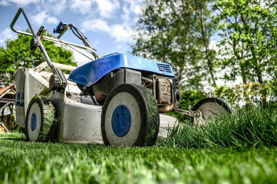 lawn mower for landscaping curb appeal